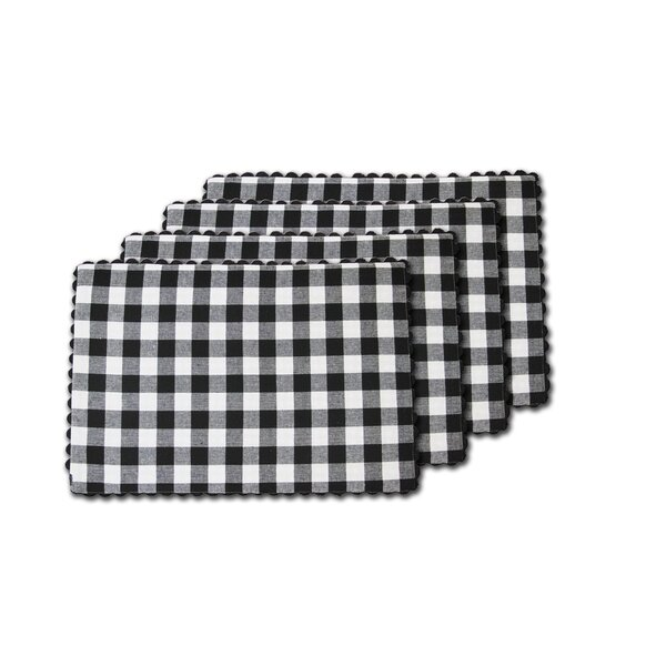 Marin Classic Buffalo Check 100% Cotton 13 Placemat (Set of 4) by Gracie Oaks